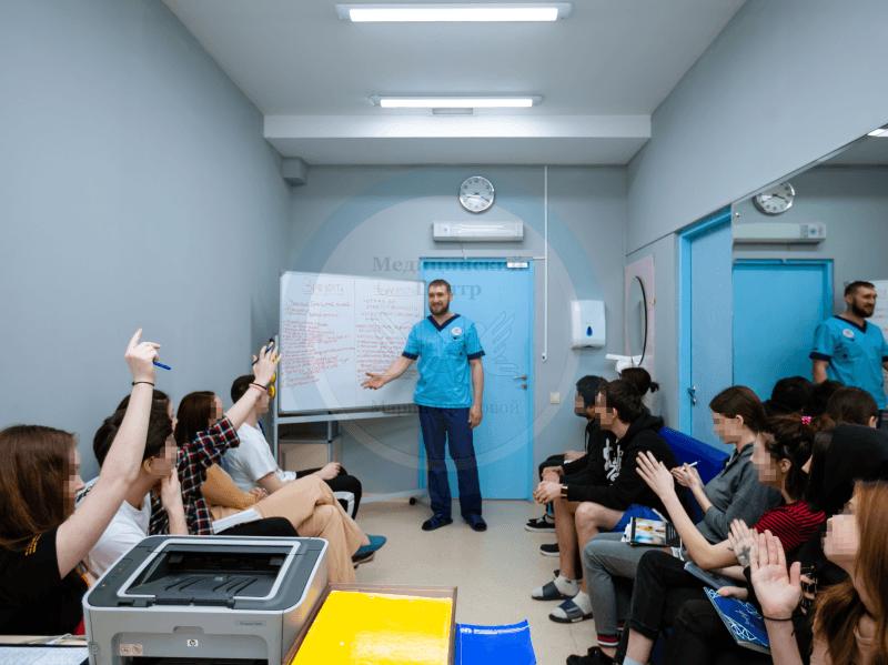 Групповые тренинги резидентов