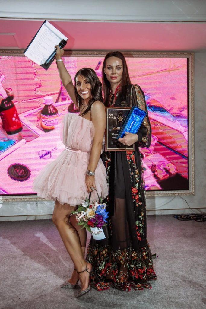 "Мария Фролова на ежегодной премии ""TOP-25 BEAUTY&HEALTH"""